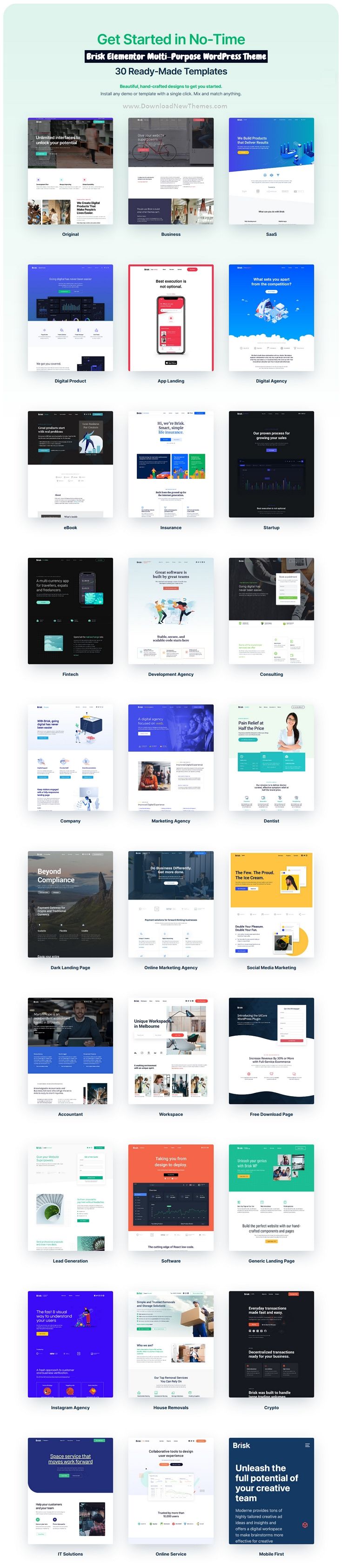 Elementor Multi-Purpose WordPress Theme