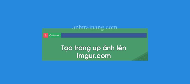 Tạo trang úp ảnh riêng chuyên nghiệp cho blogspot của bạn