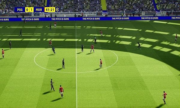 اي فوتبول 2022 eFootball مود ازالة الموشر No Cursor Mod