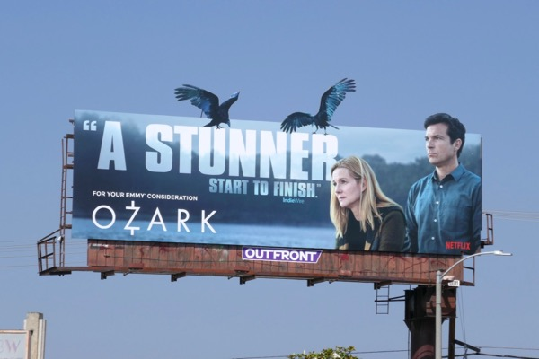 Ozark 2018 Emmy FYC cutout crows billboard