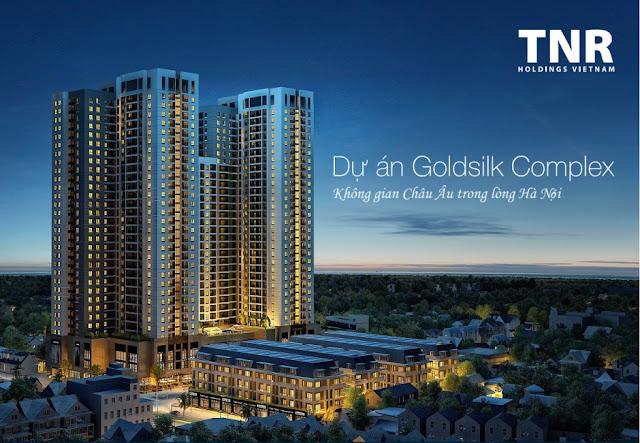 Phối cảnh dự án Goldsilk Complex udic westlake