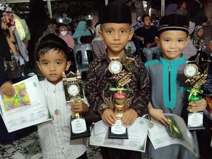 TKIT Nahwannur Menang 3 Cabang Lomba Se-Kecamatan Dewantara