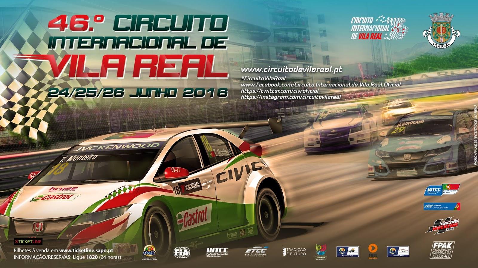 Circuito Vila Real : Bilhetes para o º circuito já à venda vila real online