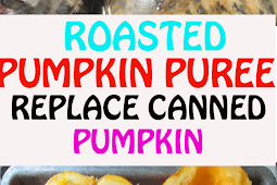 ROASTED PUMPKIN PUREE TO REPLACE CANNED PUMPKIN