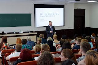 «Як це бути Фінансовим Директором»:  лекція Фінансового Директора «Філіп Морріс Україна»