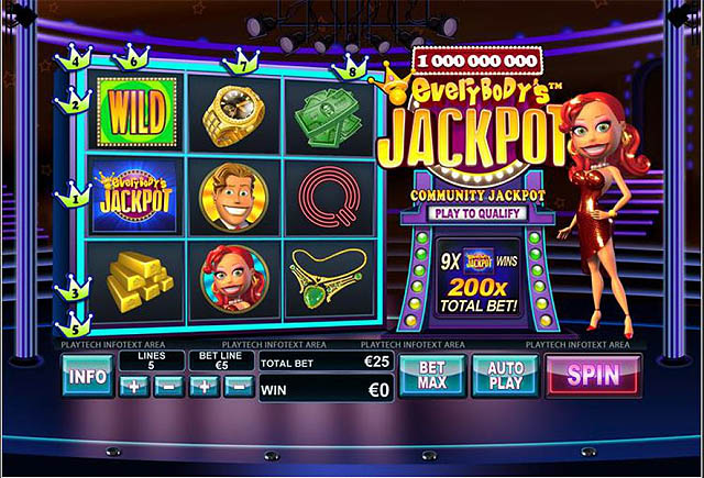 Ulasan Slot Playtech Indonesia - Everybody's Jackpot Slot Online