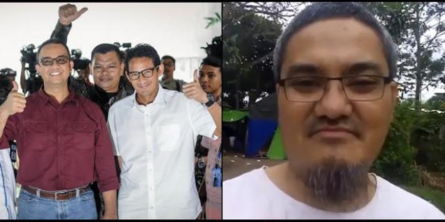 Plin Plan, Jonru Tarik Dukungan Anies Baswedan, Kini Balik Dukung Agus Yudhoyono