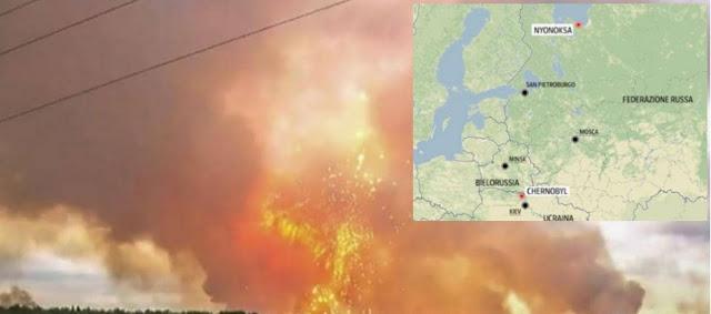 كارثة ..إنفجار نووي ضخم في قاعدة عسكرية بروسيا..والعالم يتأهب للأسوأ