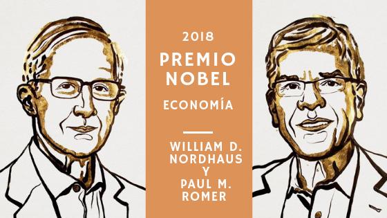 William D. Nordhaus y Paul M. Romer