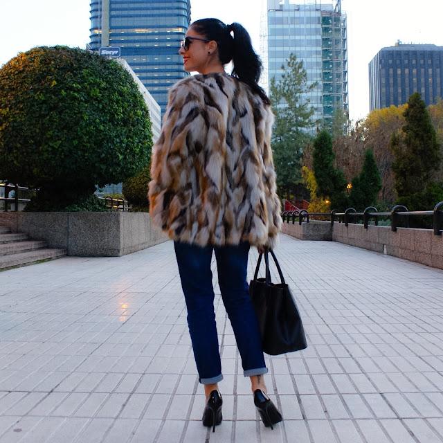 La Caprichossa, blog moda, Fur Coat outfit