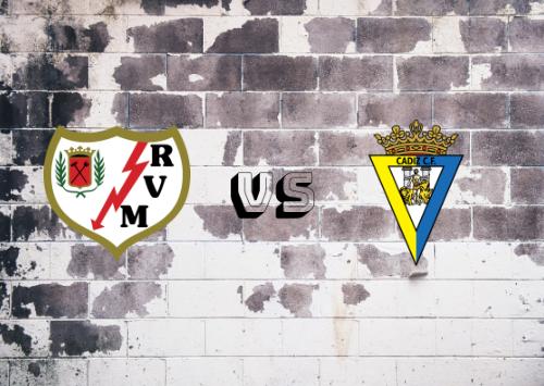 Rayo Vallecano vs Cádiz  Resumen