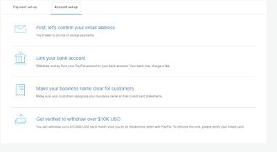cara membuat akun PayPal 2019