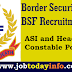 BSF Recruitment 2016 Apply online for 157 ASI and Head Constable Posts