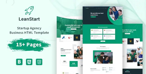 Best Startup Agency Business HTML Template