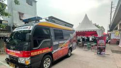 Polres Jakarta Pusat Gelar Vaksinasi Keliling, Sasar Masyarakat Daerah Terpencil