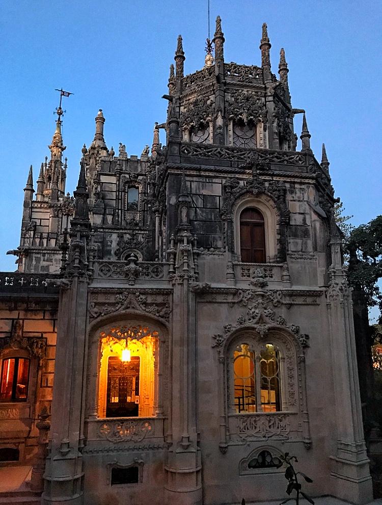 Quinta de Regaleira in all gothic splendour