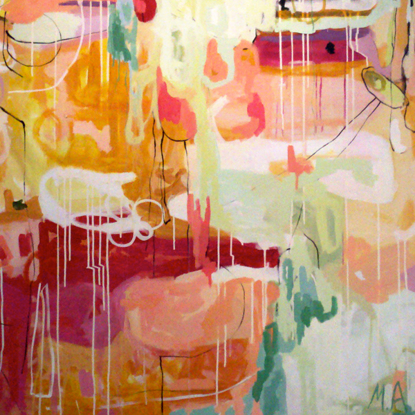 Kelly Wearstler Ish: Charles Whyte: A Candy Shop Of Abstract Art