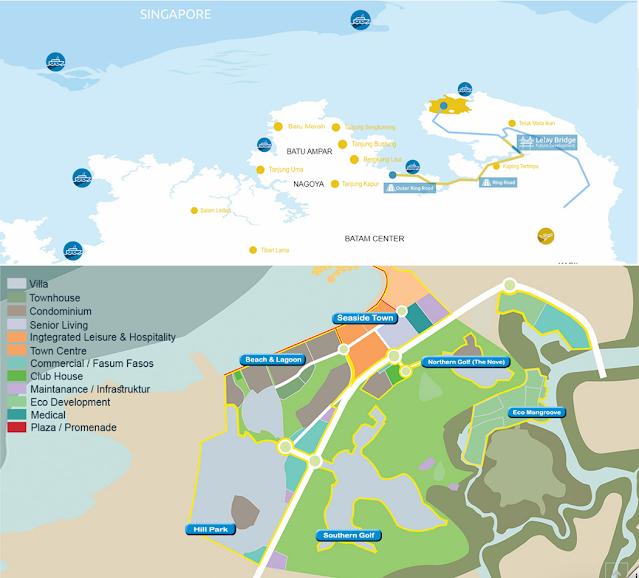 map nuvasa Bay
