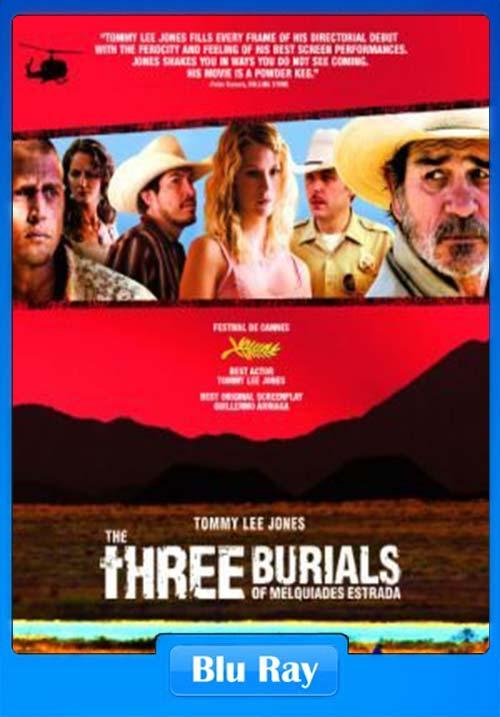 Three Burials 2005 720p BluRay x264 | 480p 300MB | 100MB HEVC Poster