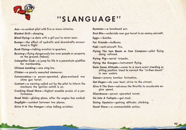WWII air force slang