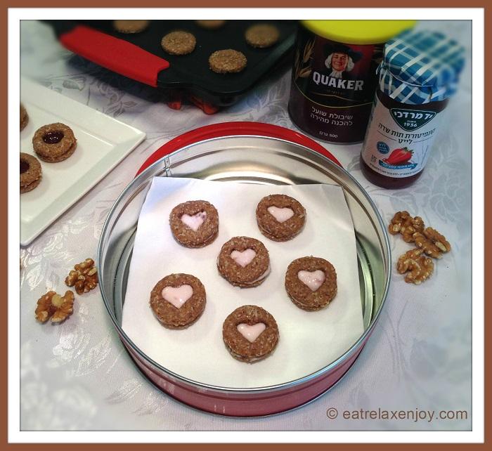עוגיות קוואקר וחיטה מלאה