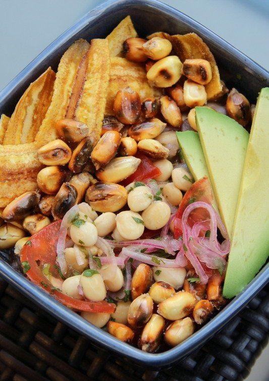 Receta de Ceviche de Chochos o Tarwi