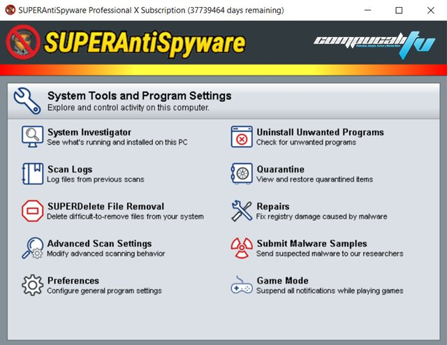 SUPERAntiSpyware Professional Versión Final