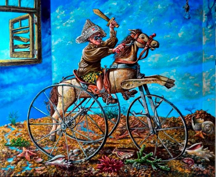 Кубинский художник. Carmelo Gonzalez Gutierrez (Carmelohijo)