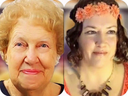 Dolores Cannon and Pamela Aaralyn look alike Wonderment looks like Same Soul Connected Channel within Love the Library