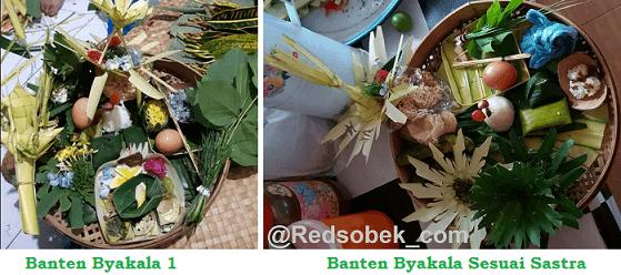 Banten Byakala / Biakala Karangasem