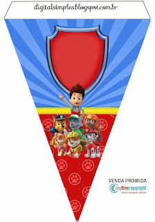 Paw Patrol Birthday Party: Free Party Printables. | Oh My ...