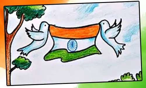 drawing on republic day for class 3  drawing on republic day for class 4  republic day images  drawing of republic day parade  independence day drawing competition ideas  drawing on republic day for class 8  republic government drawing  republic day ki drawing