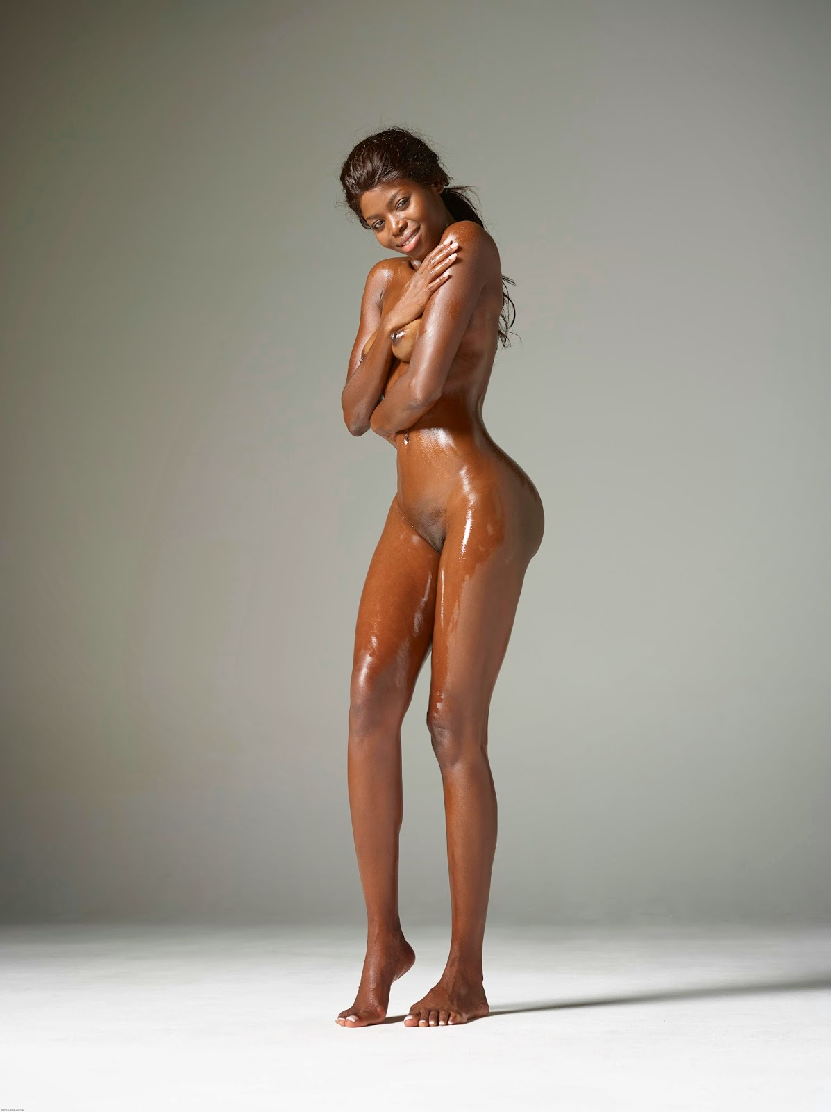 models Ebony nude art
