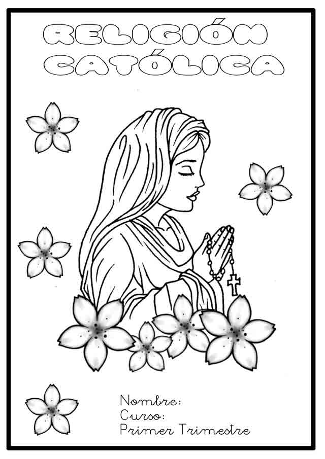 Cartulas de religin para colorear - Imagui