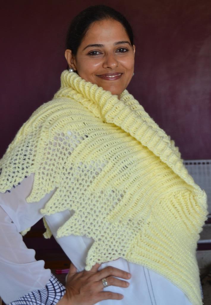 Sweet Nothings Crochet J S Superb Motif Wrap