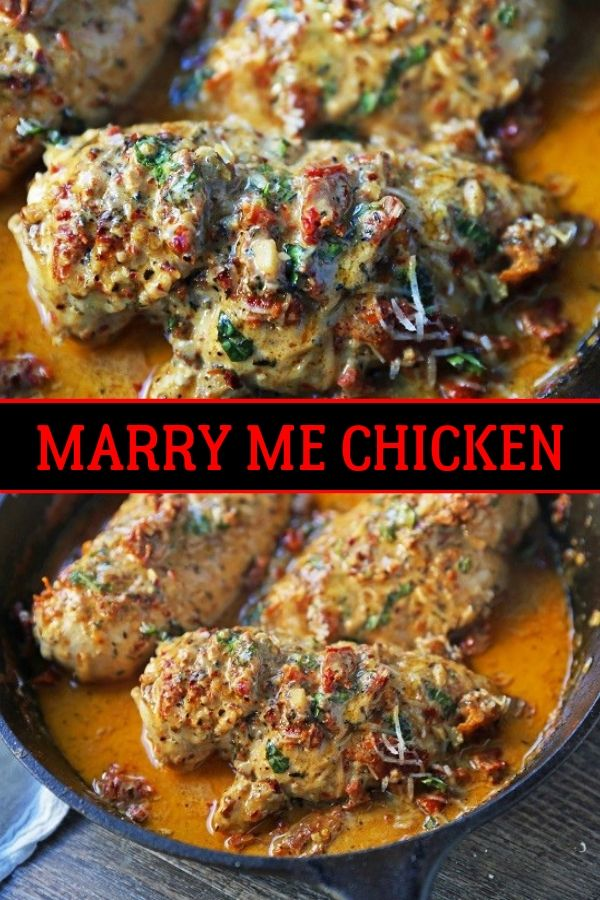 ★★★★★ 5700 Ratings : Delicious Marry Me Chicken #Instantpot #Bangbang #Shrimp #Pasta #vegan #Vegetables #Vegetablessoup #Easydinner #Healthydinner #Dessert #Choco #Keto #Cookies #Cherry #World #foodoftheworld #pasta #pastarecipes #dinner #dinnerideas #dinnerrecipes #Healthyrecipe #Pastarecipe #Pizzarecipe #salad
