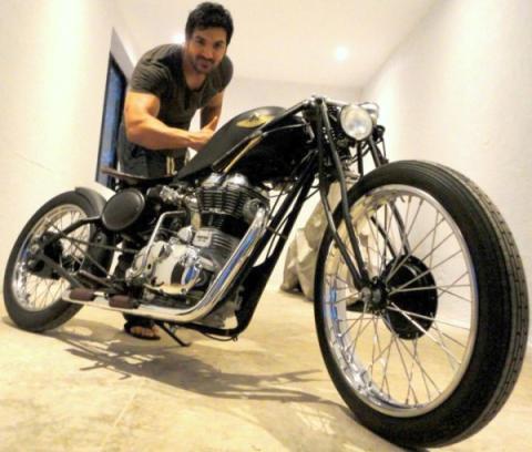 john Abraham bike