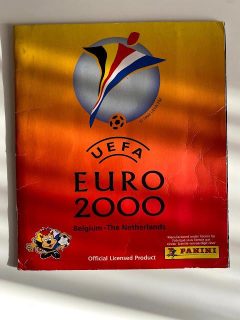 Copertina Euro 2000 Panini