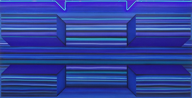 Joan Balzar - Blue Neon