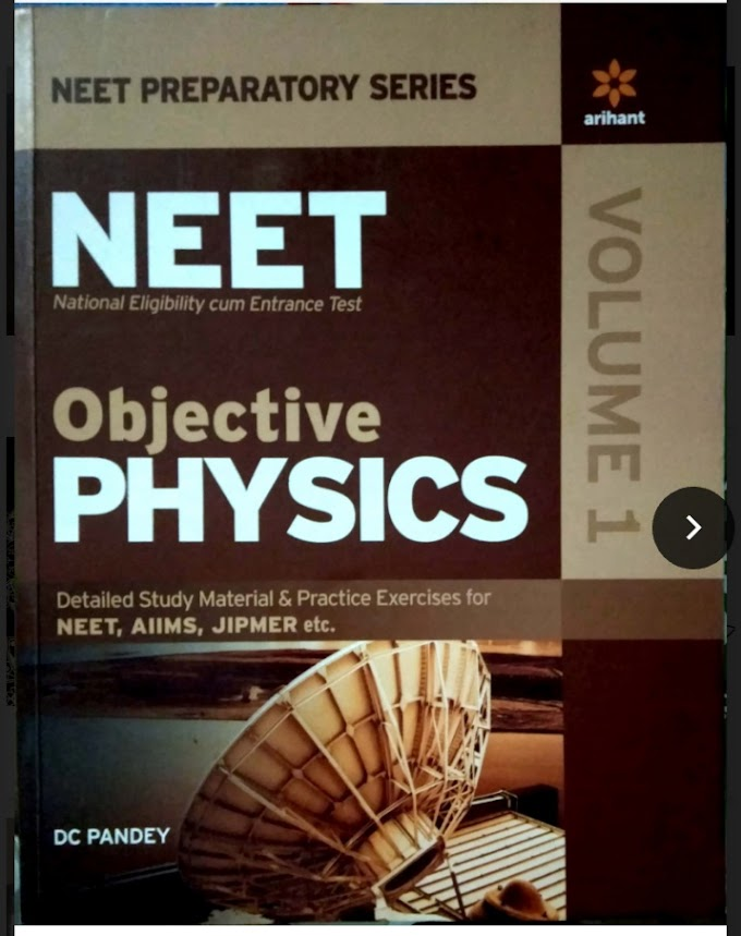 Dc Pandey Objective Physics For NEET