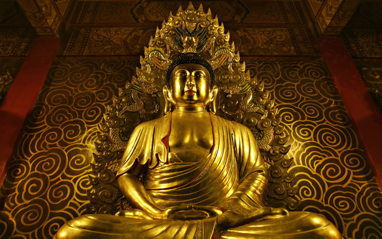 The Buddha seems of peace but merely teaches of apathy and nothingness, controlling all emotion to experience no emotion.