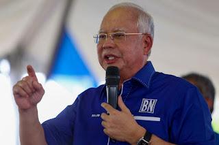 ' usah jadi kuda tunggangan golongan tidak bertanggungjawab' - Najib Razak