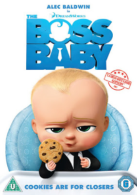The Boss Baby DVD