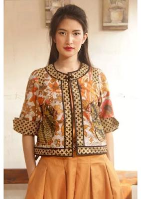 batik bolero cerah