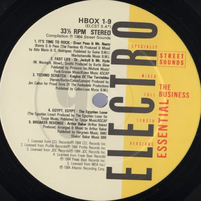 HIP HOP OLDSCHOOL - ELECTRO BASS - FREESTYLE: Various- Essential