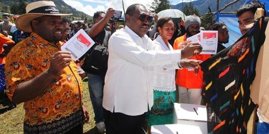 Hasil Pilpres 2019: Jokowi-Ma'ruf Menang di Semua TPS di Kabupaten Puncak Papua