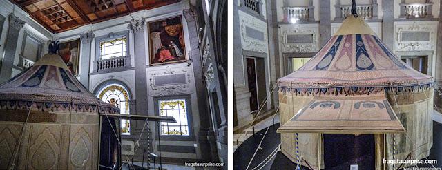 Tenda de Carlos V, no Alcázar de Toledo