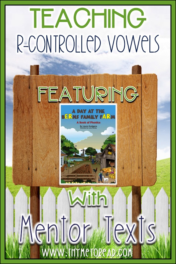 A Day At Berns Family Farm is a great text that features R-Conrolled Vowels. Use this text to introduce the new phonics skills with your students and practice decoding strategies.