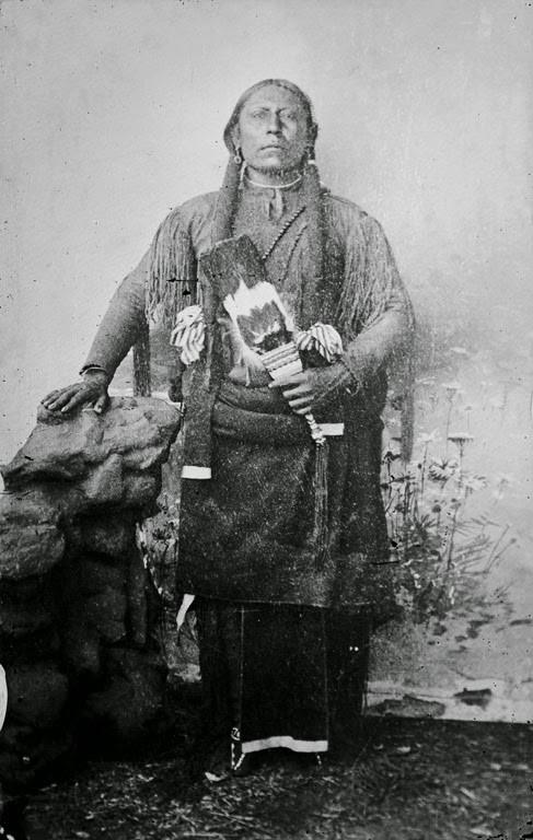 Liderança Comanche - Quanah Parker - (1890)