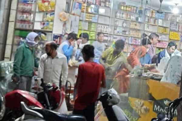 faridabad-police-will-take-action-against-ration-store-high-price-news